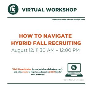 CSN Summer Series | Navigating Hybrid Recruiting