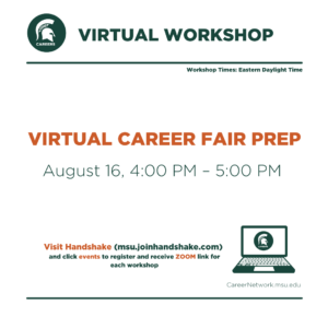 CSN Summer Series | Navigating Virtual Career Fairs